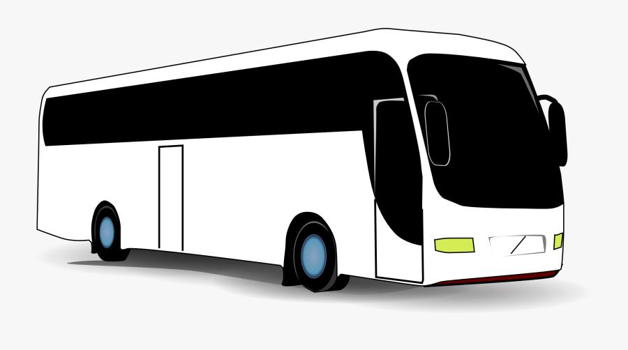 Transparent Charter Bus Png - Coach Bus Clip Art, Transparent Clipart