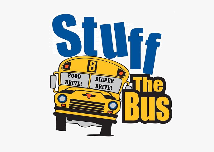 Transparent School Bus Driver Clipart - Stuff The Bus Salvation Army, Transparent Clipart
