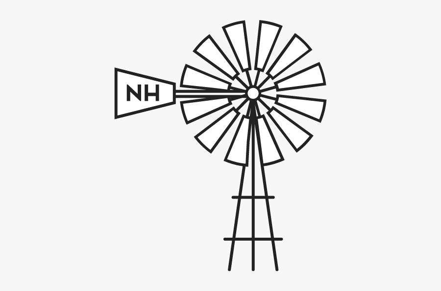 Collection Of Free Garden Drawing Backyard Download - Drawing Easy Wind Mill, Transparent Clipart
