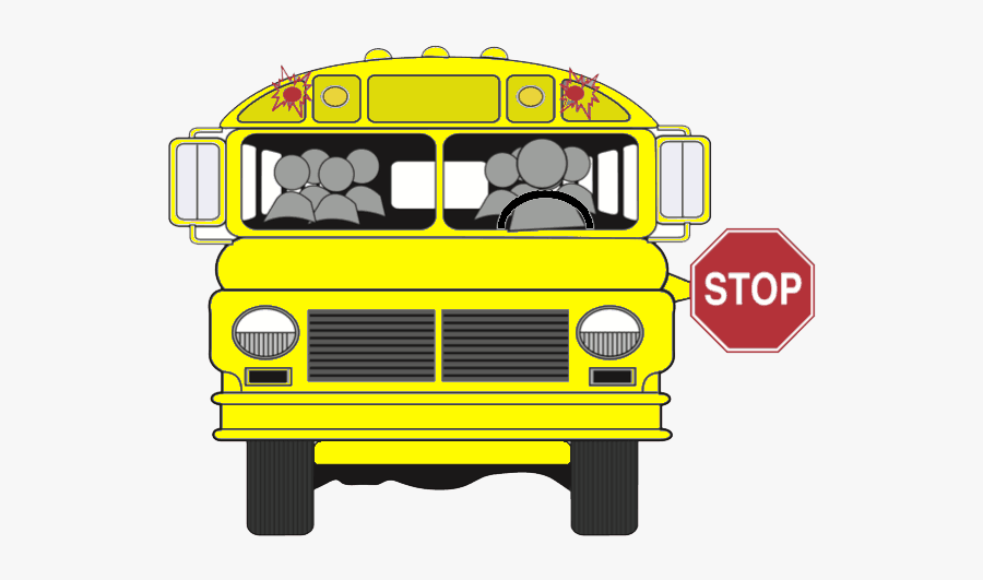 Teen Stops Drunk Bus Driver, Enables Conviction Royalty - School Bus Stop Sign Png, Transparent Clipart