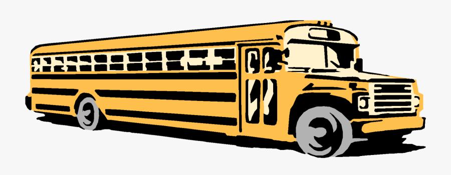 Driving Clipart Yellow School Bus - School Bus, Transparent Clipart