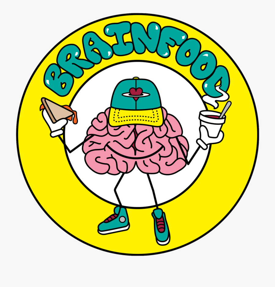 Brain Food Grilled Cheese, Transparent Clipart
