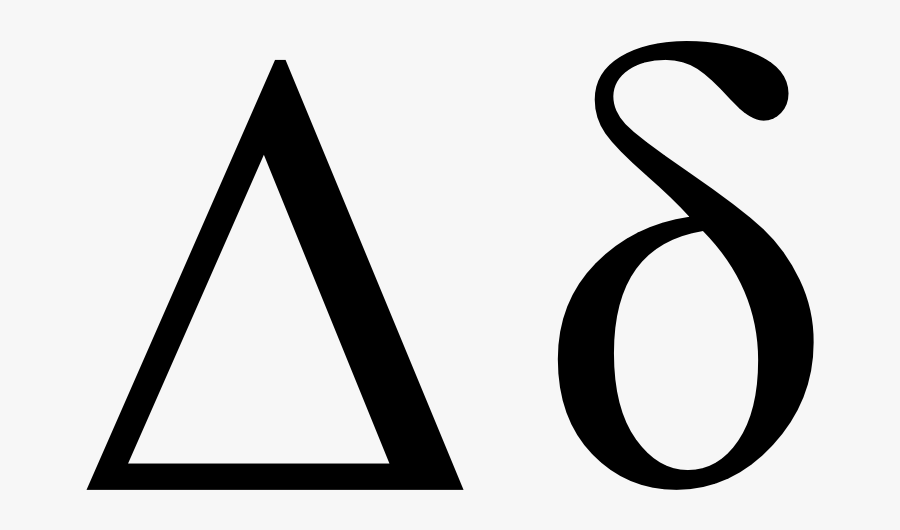 Transparent Caveman Clipart - Delta Symbols, Transparent Clipart