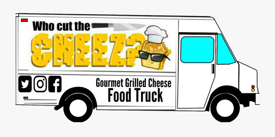 Food Truck Blank Template, Transparent Clipart