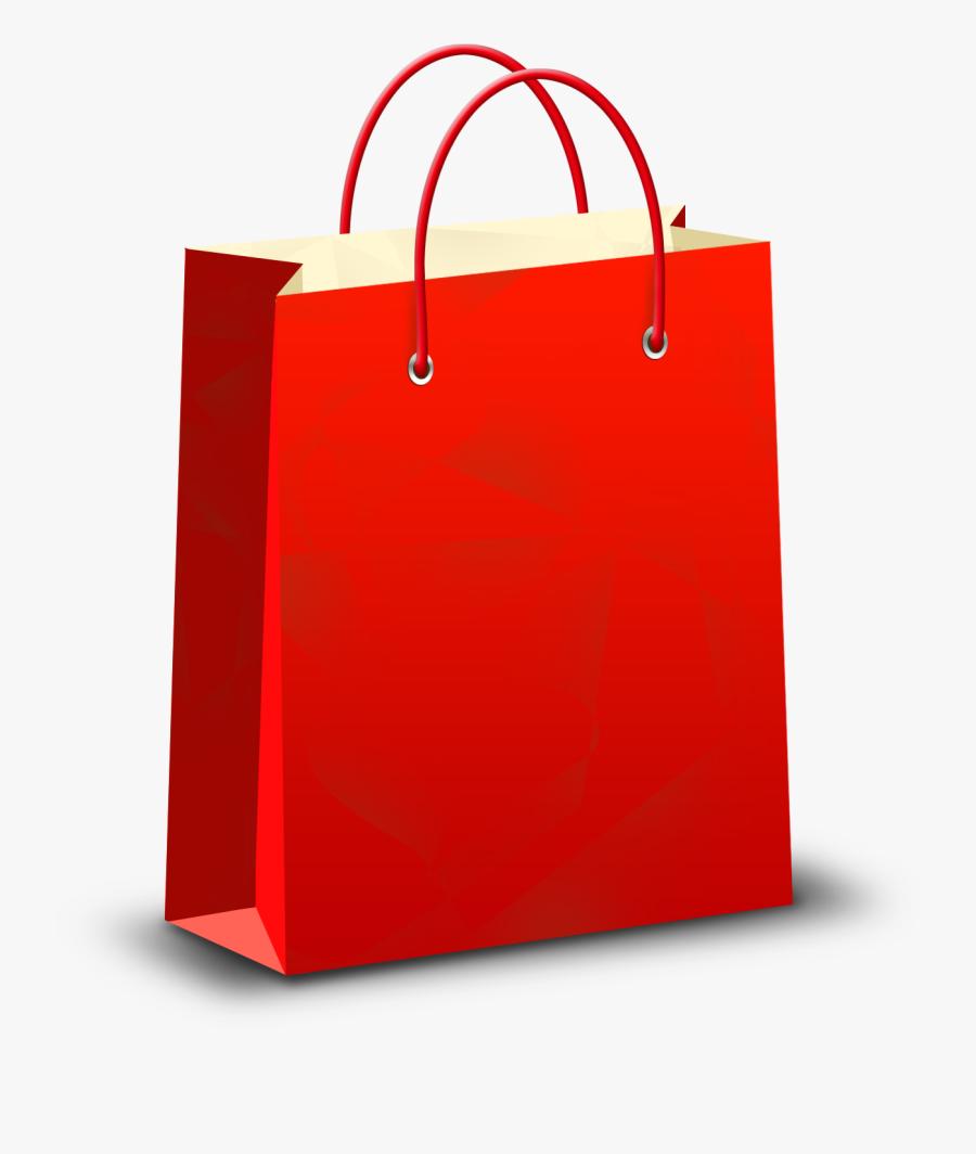 Paper-bag - Transparent Background Shopping Bag Png, Transparent Clipart