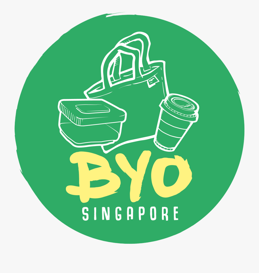 Byo Singapore - Zero Waste Singapore, Transparent Clipart