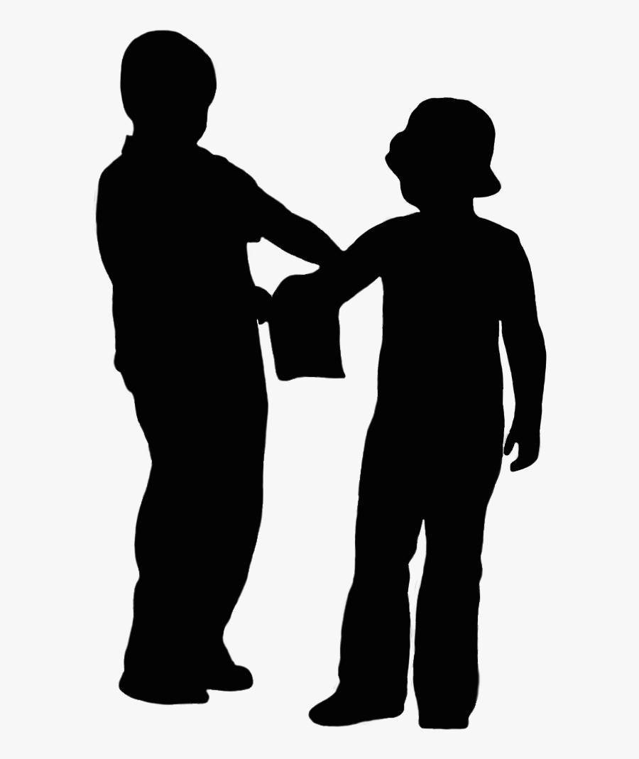 Index Of / - Two People Talking Silhouette Png, Transparent Clipart