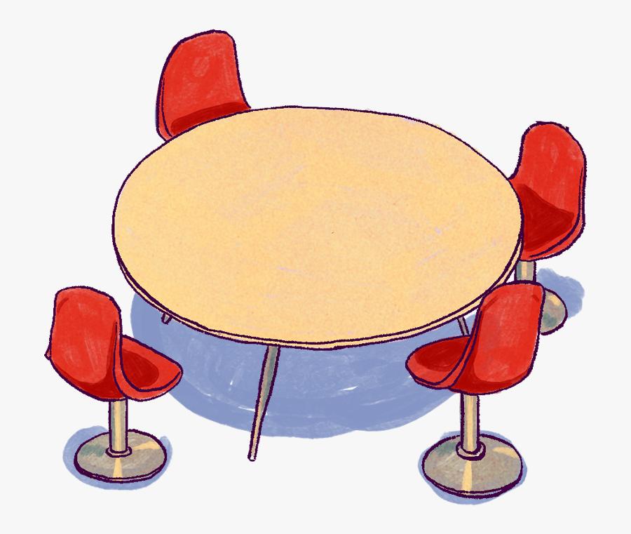 Office Table - Cartoon, Transparent Clipart