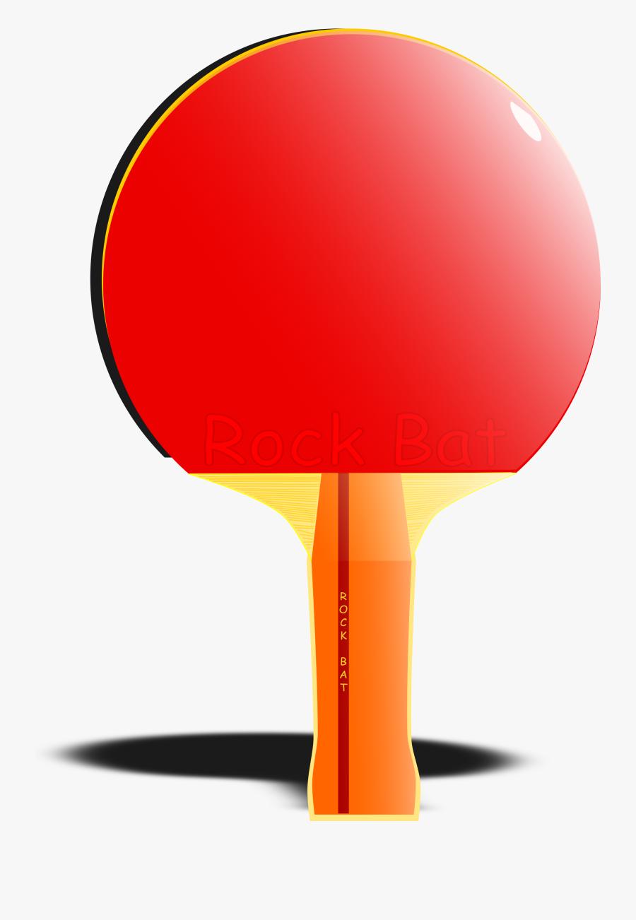Table Tennis Bat Animation, Transparent Clipart