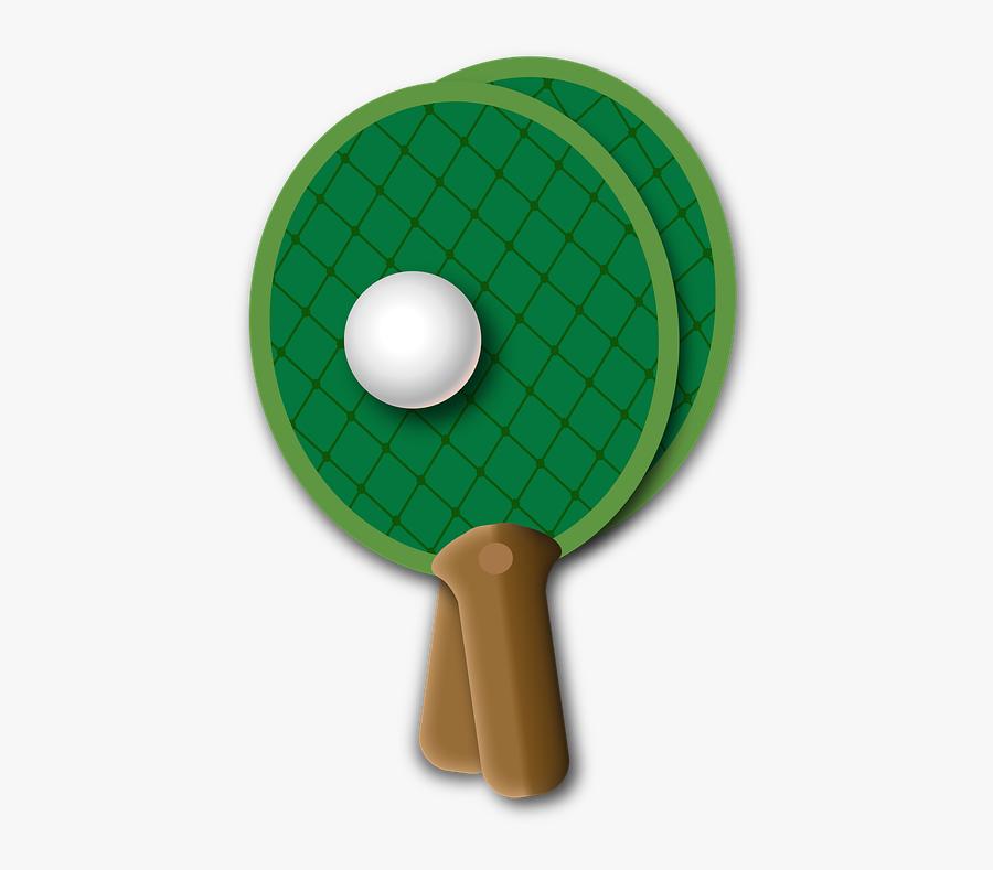 Table Tennis, Ping-pong, Ball, Bat, Kellen, Sport - Ping Pong, Transparent Clipart