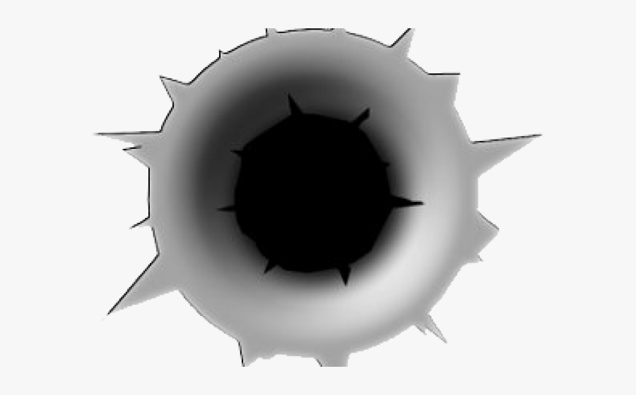 Bullet Hole Transparent Background, Transparent Clipart