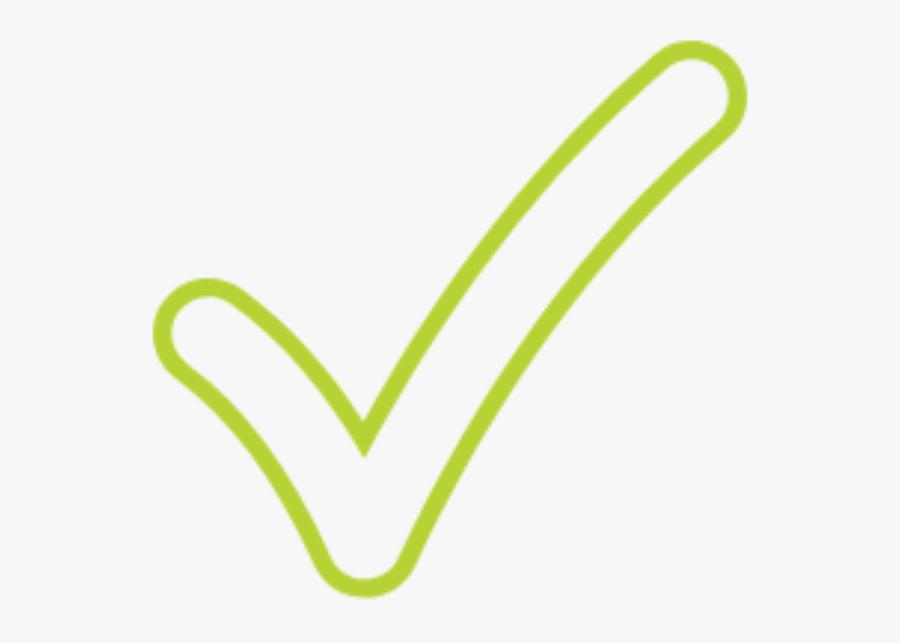 Transparent Tick Clipart - Green Tick Transparent Small, Transparent Clipart