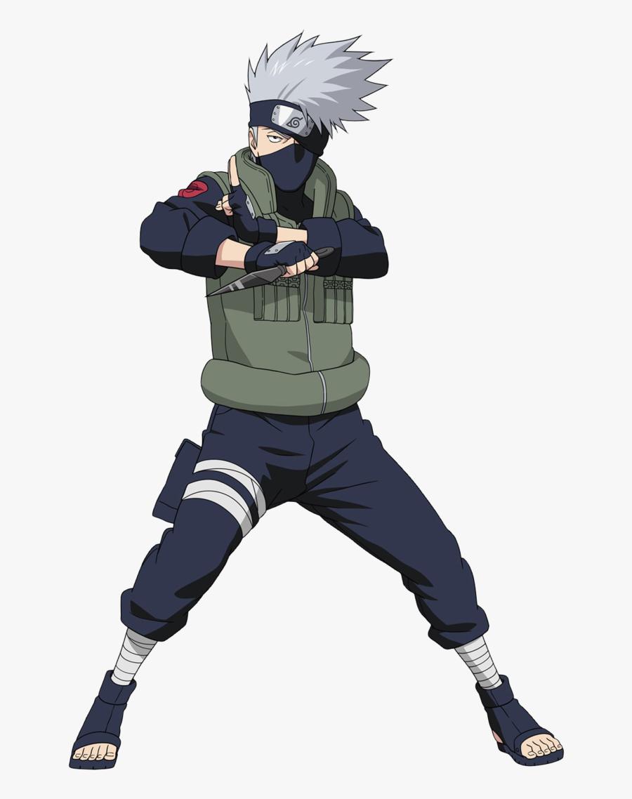 Naruto Kakashi Clipart - Naruto Kakashi, Transparent Clipart