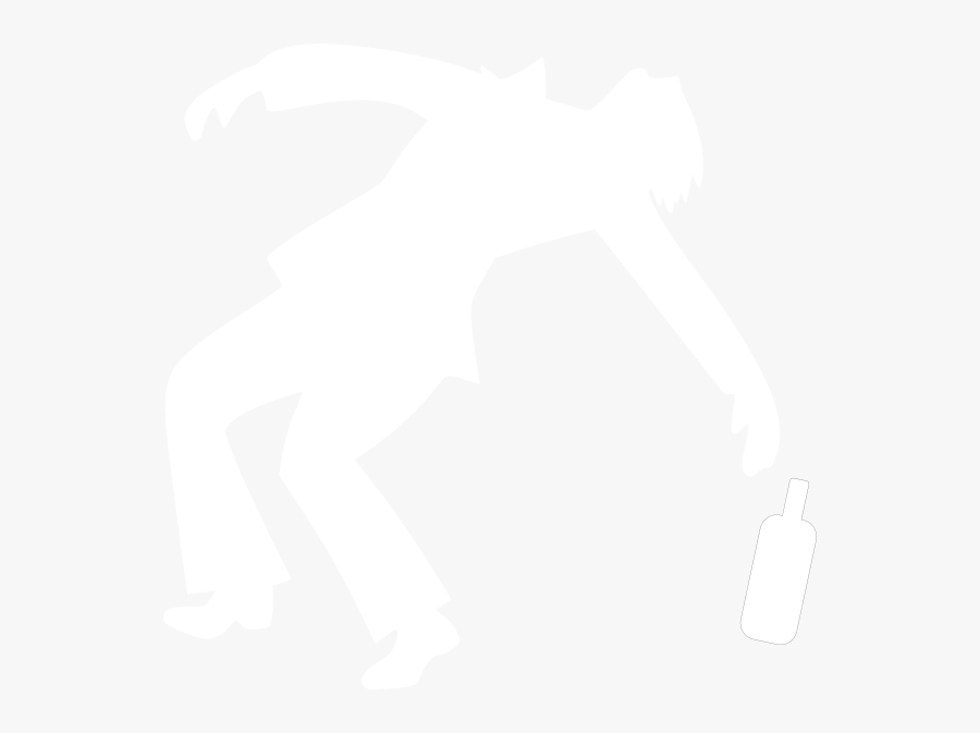 Drunk Silhouette Png Clipart, Transparent Clipart