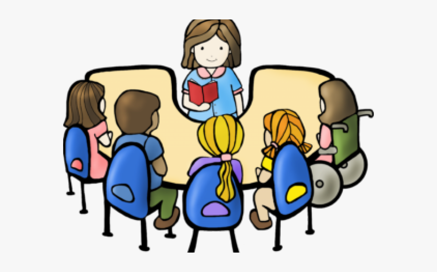 Clipart Reading Guided Reading - Reading Groups, Transparent Clipart