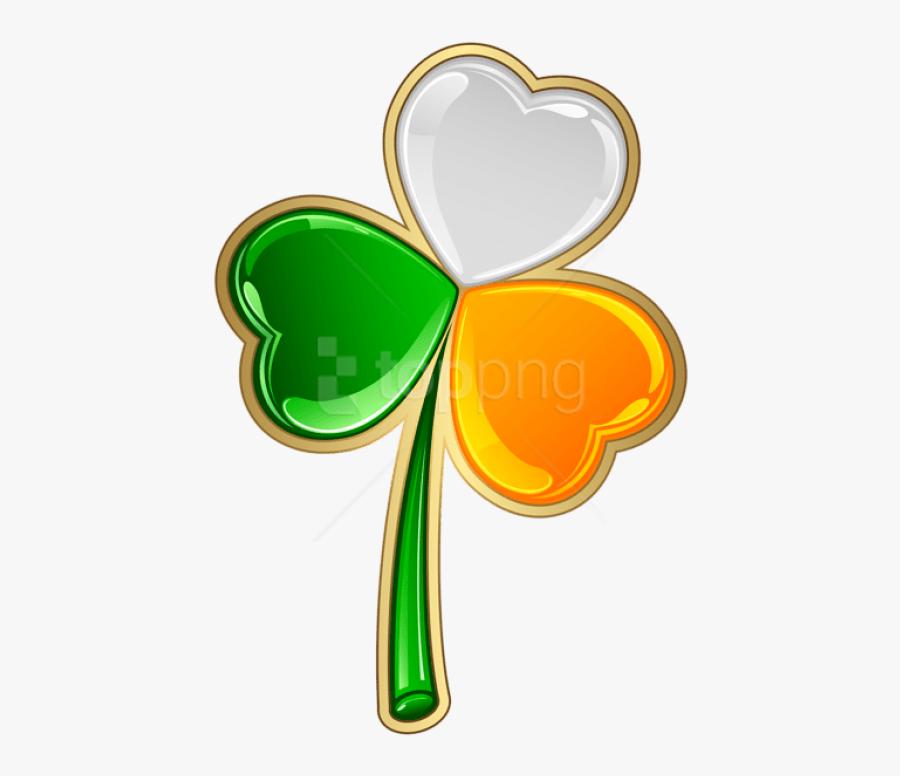 Download St Patrick S - Irish Shamrock Transparent Background, Transparent Clipart
