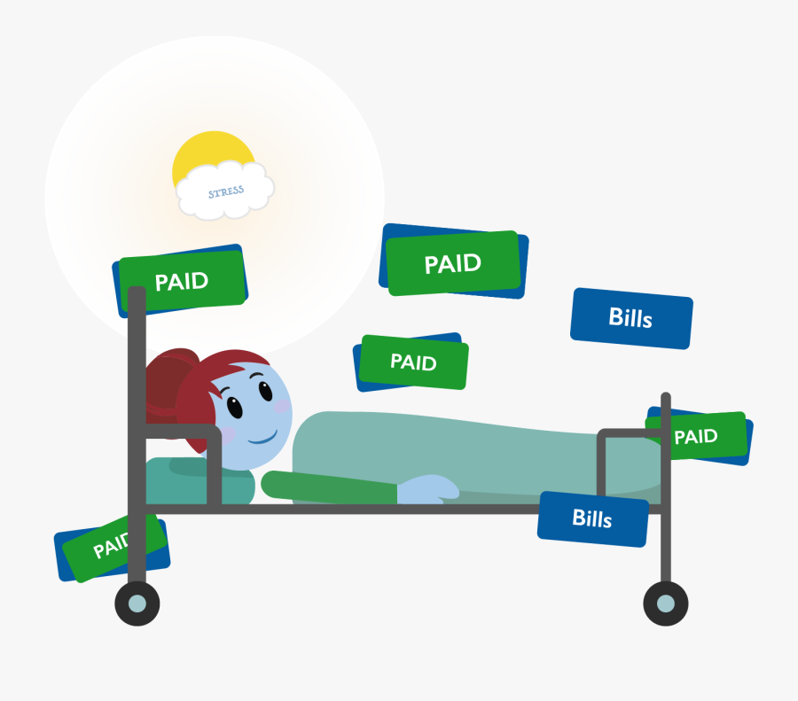 Costs Of Being In A Hospital Bed - Daily Cash Hospital Cash Benefit, Transparent Clipart