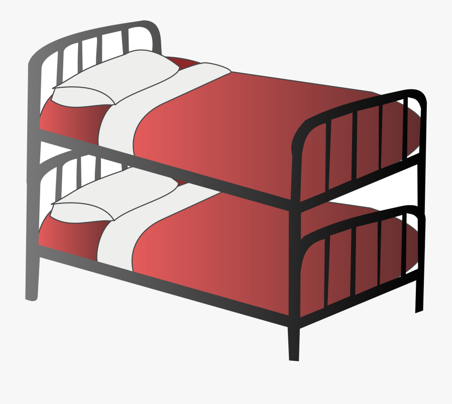 Bed Clip Art Free Clipart Images Clipartbold Transparent - Bunk Bed Clipart, Transparent Clipart
