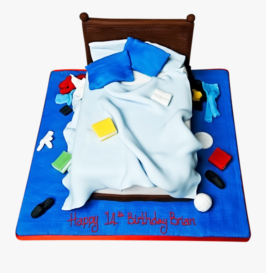 Bed Clipart Unmade - Boys Birthday Cakes, Transparent Clipart