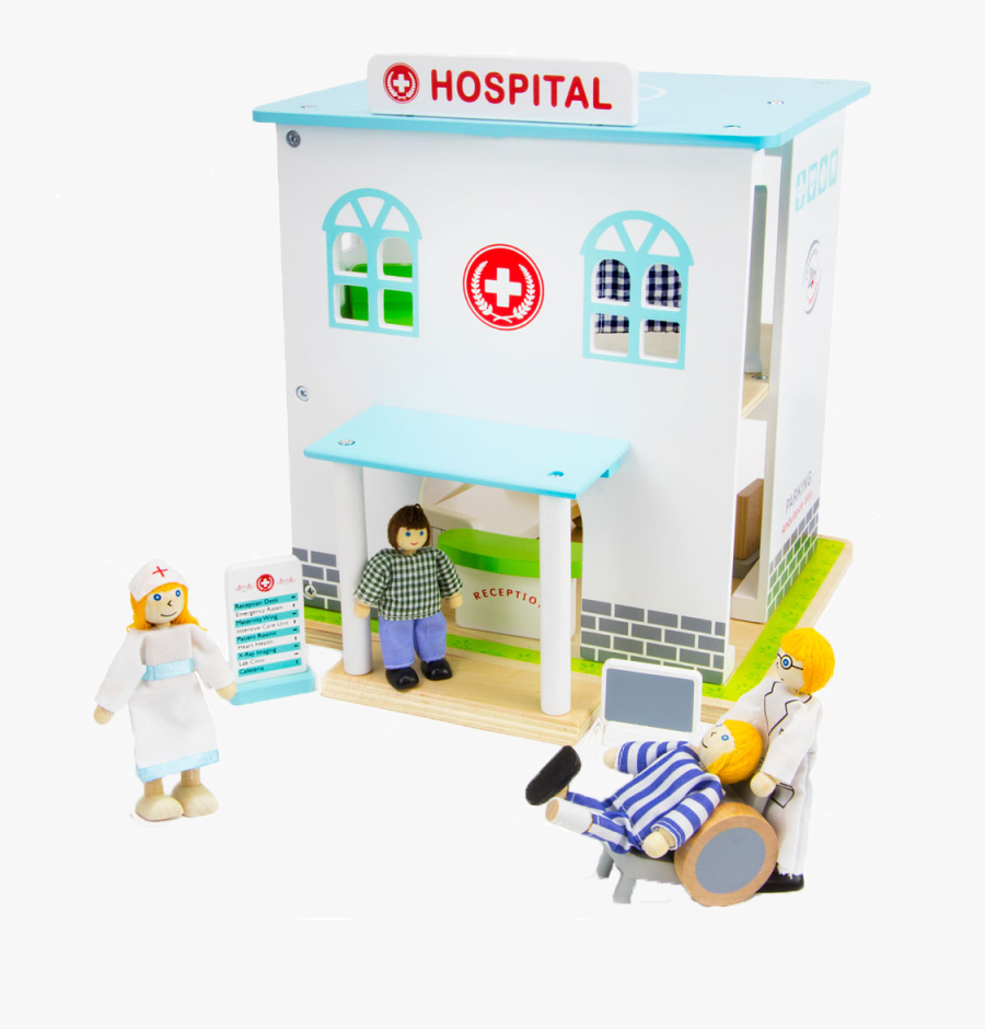 Transparent Man In Hospital Bed Clipart - Hospital Toys, Transparent Clipart