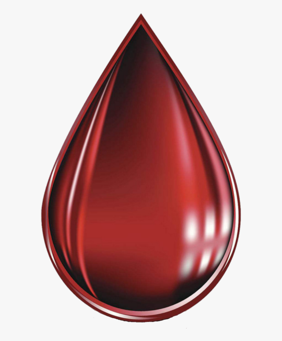 Transparent Teardrop Clipart - Carmine, Transparent Clipart