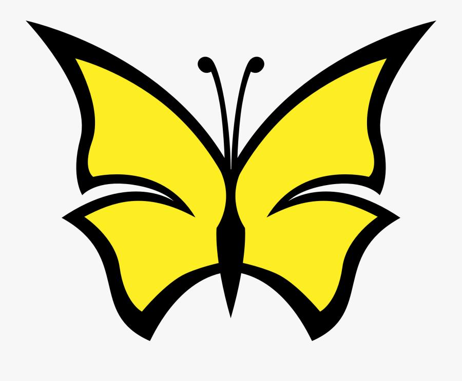 Clip Art Butterfly Color Colour Peace Svg, Transparent Clipart