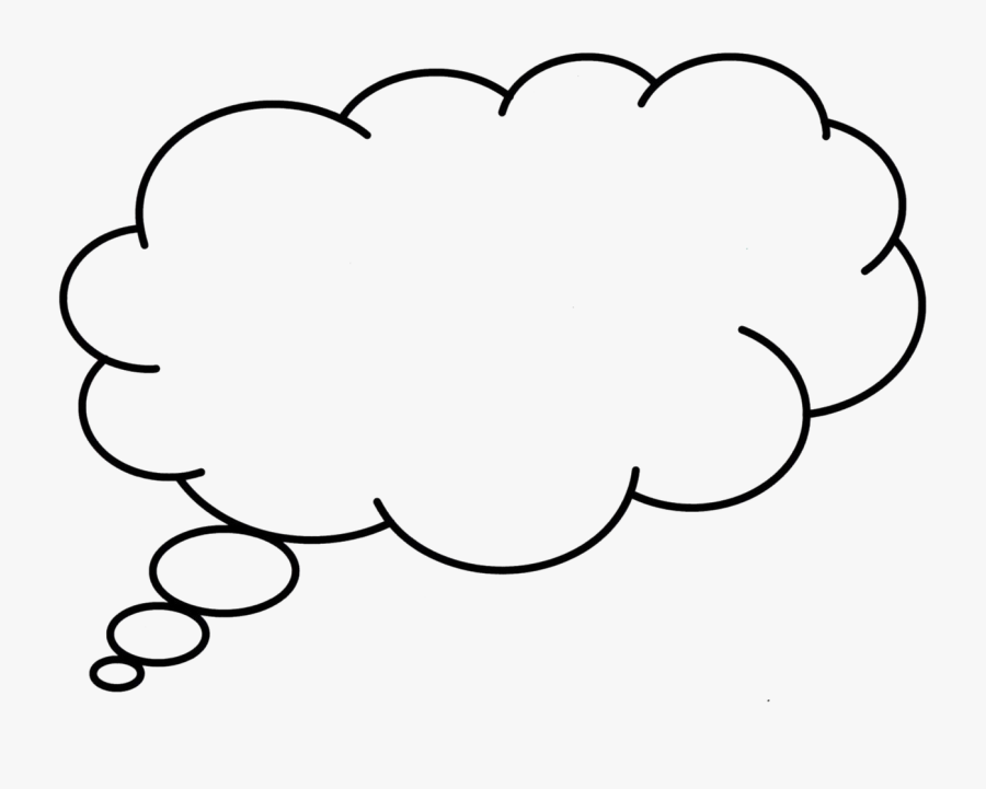 Clip Art Portable Network Graphics Speech Balloon Image - Thought Bubble High Res, Transparent Clipart