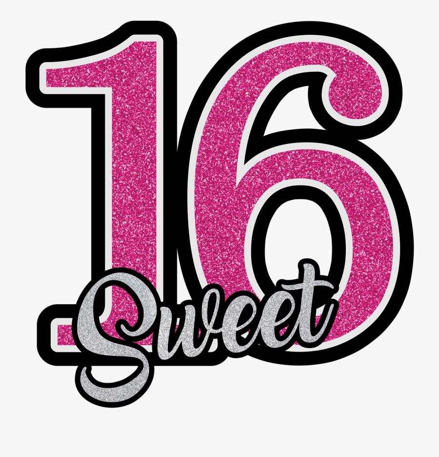 Dreams Clipart Sweet - Sweet 16 Clipart, Transparent Clipart