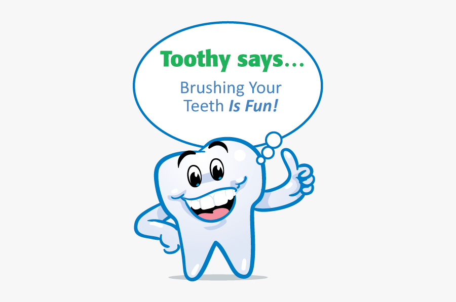 Water For Healthy Teeth Cartoon, Transparent Clipart