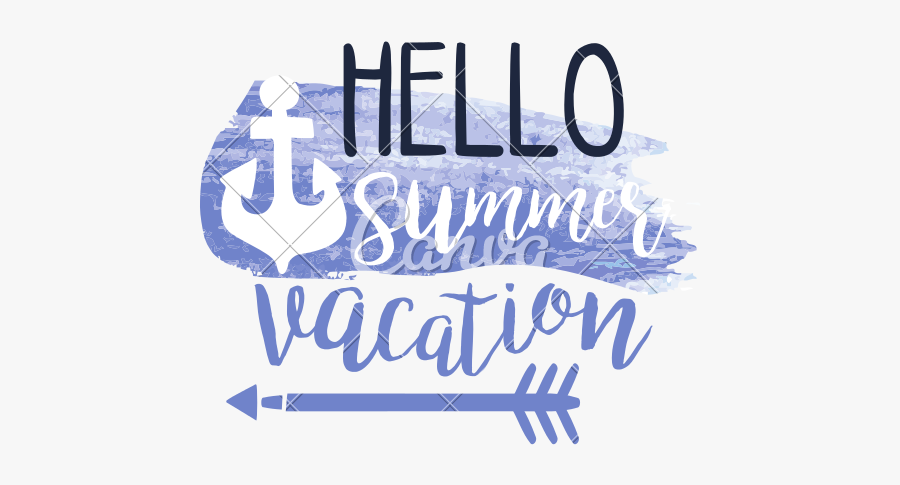 Summer Clipart Watercolor - Calligraphy, Transparent Clipart