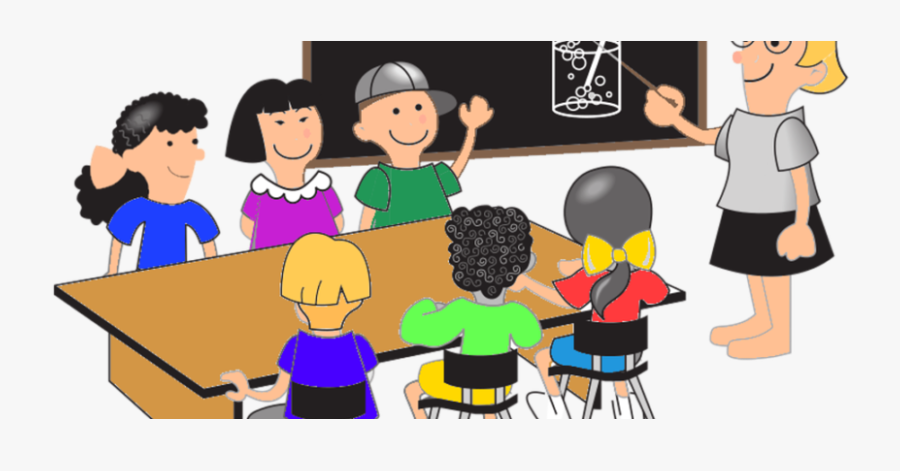 28 Collection Of Middle School Students Clipart - School Images With Students Clip Art, Transparent Clipart
