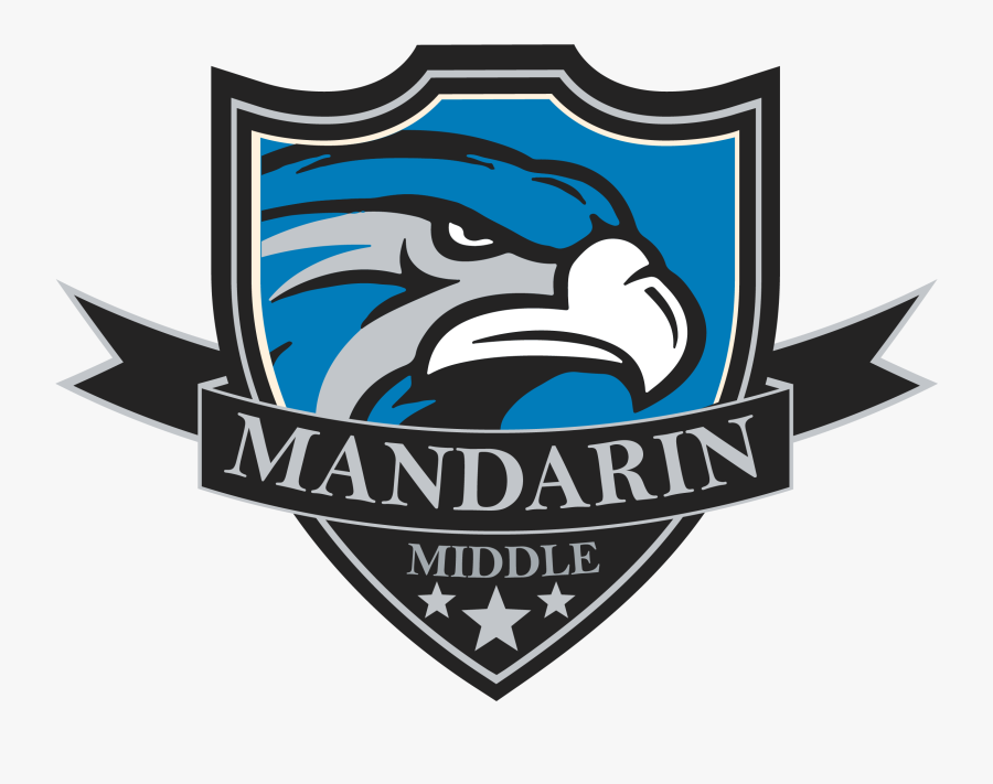 College Clipart Middle School - Mandarin Middle School Logo, Transparent Clipart