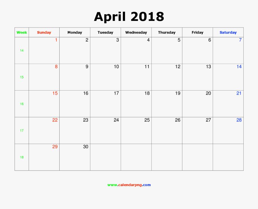 September Canada 2019 Calendar, Transparent Clipart