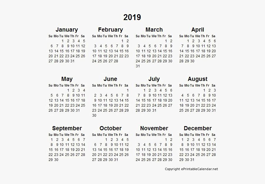 2022 Full Year Calendar.2019 Calendar Transparent 2022 Year Calendar Printable Free Transparent Clipart Clipartkey