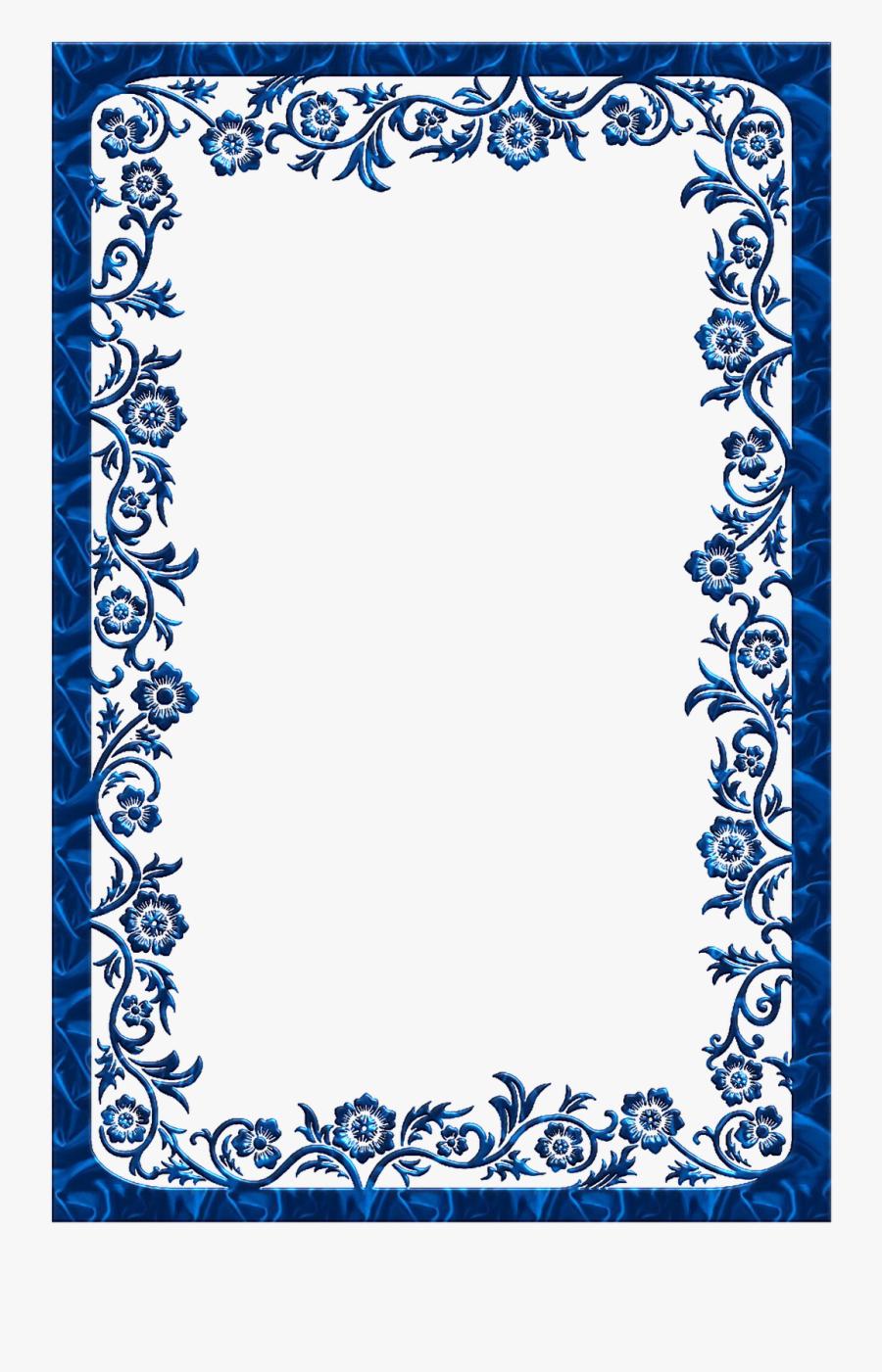 Royal Blue Border Wedding Background Free Transparent Clipart Clipartkey