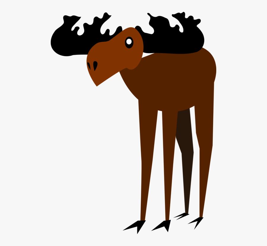 Giraffidae,human Behavior,wildlife - Moose, Transparent Clipart