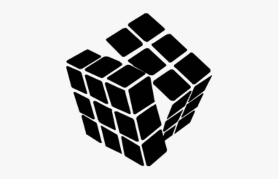 #cube #ftestickers #doodle #doodles #doodleblack #minimalism - Think And Learn Byju's, Transparent Clipart