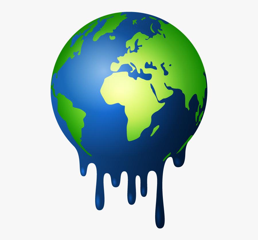 Global Warming - Locate Sahara Desert On World Map, Transparent Clipart