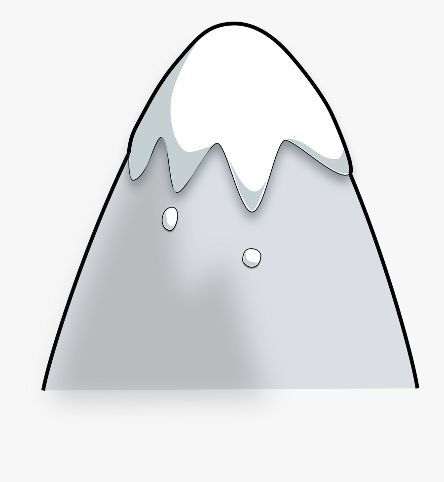 Facts Cool Kid Mountain - Animated Mountain With Snow, Transparent Clipart