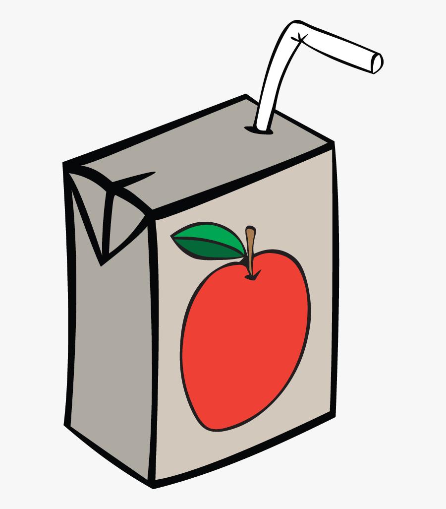 Juice Box Clipart, Transparent Clipart