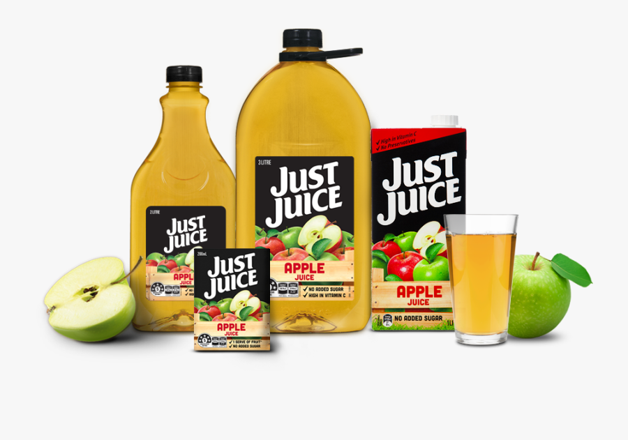 Fruits Juice Png - Apple Juice Just Juice, Transparent Clipart