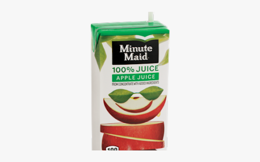 Juice Box - Minute Maid Apple Juice Box, Transparent Clipart