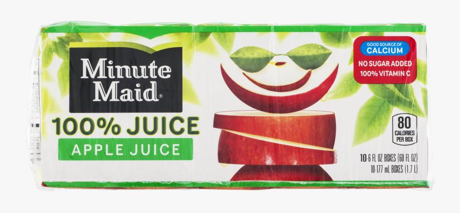 Minute Maid Apple White Grape Juice, Transparent Clipart