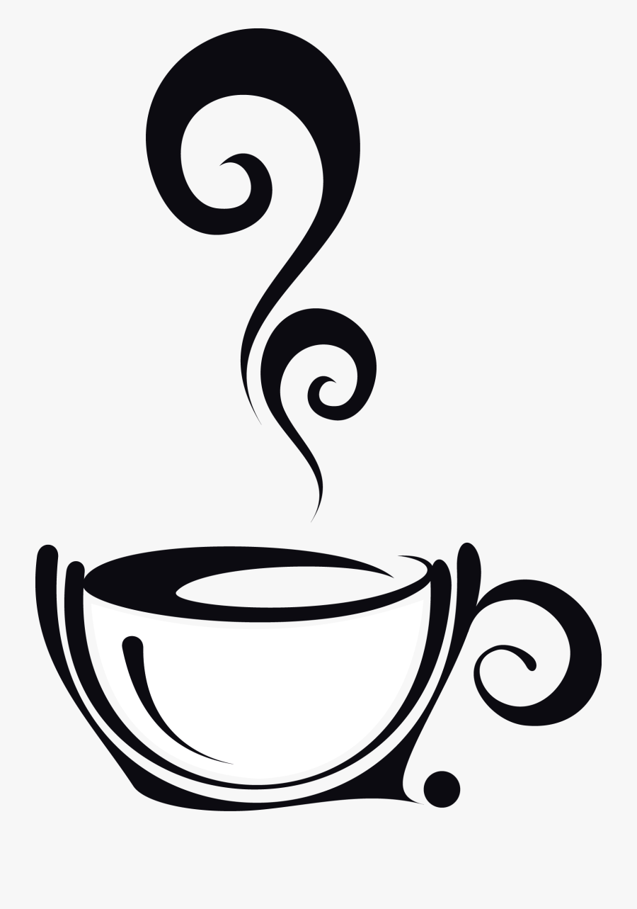 Transparent Coffee Cup Clip Art - Steaming Coffee Cup Clipart, Transparent Clipart