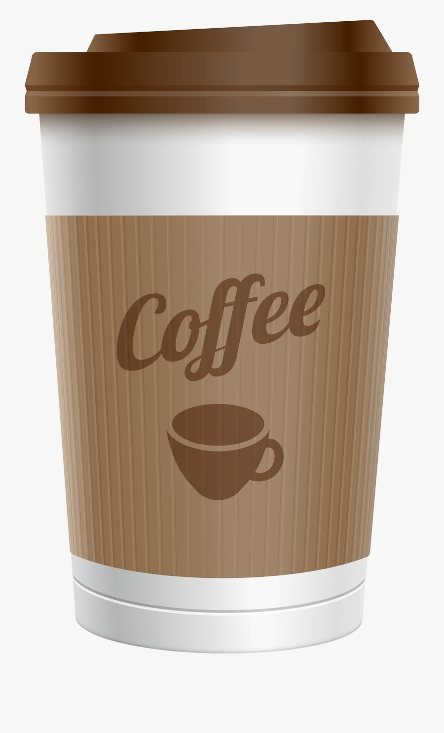 Coffee Clipart Plastic Cup Pencil And In Color Coffee - Transparent Background Coffee Cup Png, Transparent Clipart