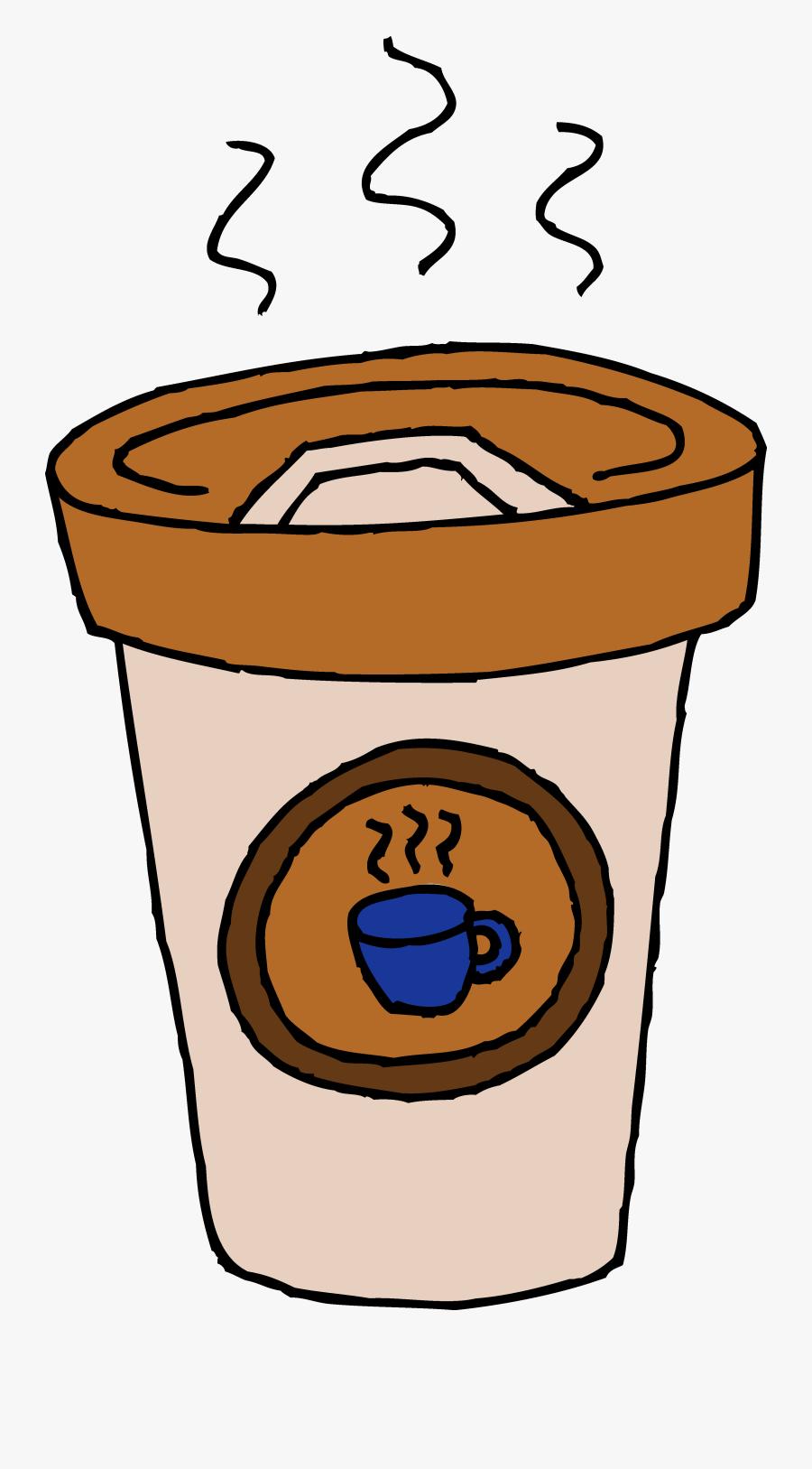 Hot Cafe Latte Clip Art - Coffee Clipart, Transparent Clipart