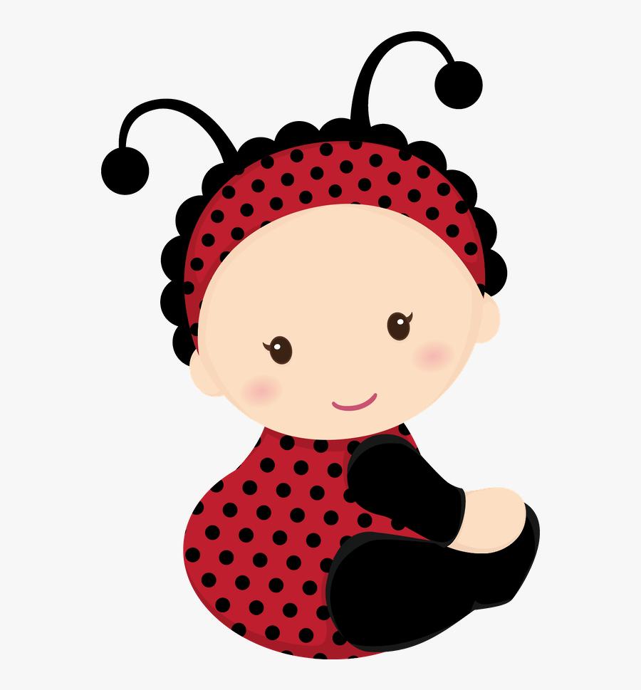 Bebê 3 - Baby Ladybug Png, Transparent Clipart