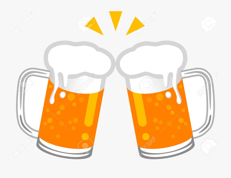 Beer Clipart To Printable Free Images Transparent Png - Pint Glass Beer Cheers Clipart, Transparent Clipart