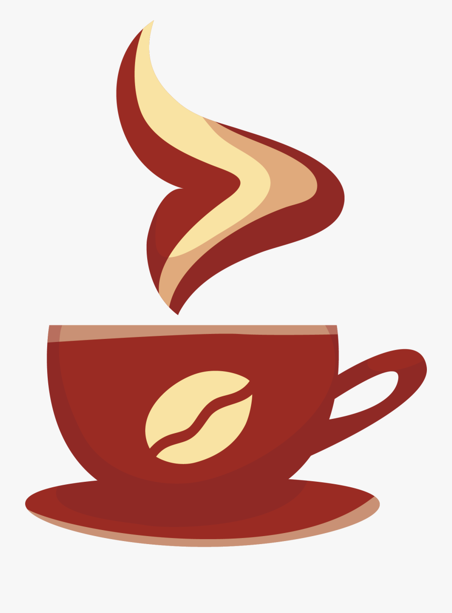 Mug Clipart Coffee Bagel - Coffee Cup Png Vector, Transparent Clipart
