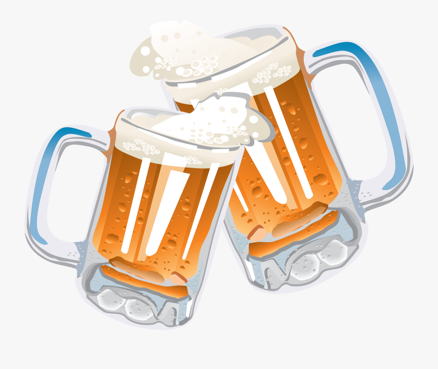 Beer Clip Art Free Clipart Images - Transparent Background Beer Mugs Png, Transparent Clipart
